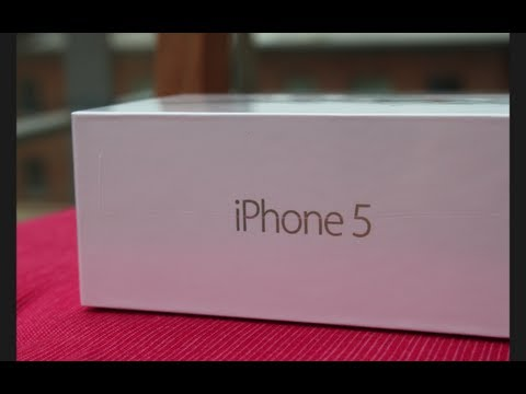 Unboxed : iPhone 5 64GB (White & Silver) + First Boot-Up