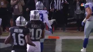 Derek Carr fumbles ball out of the end zone: Cowboys vs Raiders Week 15