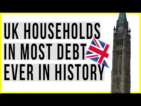 Will Brexit Destroy the UK Economy? Housing Prices Falling and Household Debt WORST IN HISTORY!