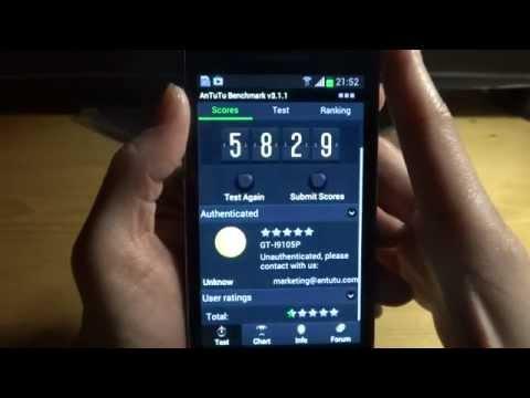 Samsung Galaxy S II Plus GT-I9105P Test 1