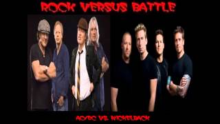 Rock Versus Battle - AC/DC vs. Nickelback