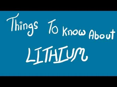 Things To Know About Lithium || Obsessed Scientist