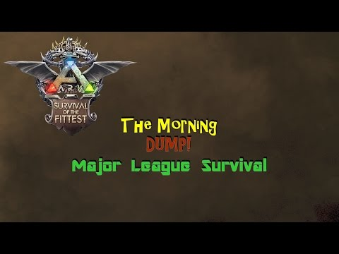 Ark: The Morning Dump - MLS, ISIS, ET, Bullying