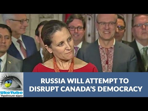 Russia spreads disinformation in Canada, United States & Europe