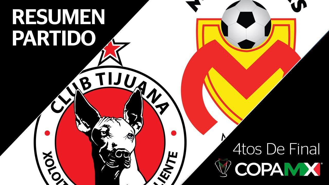 Resumen Y Goles Tijuana Vs Morelia Copa Mx Cuartos