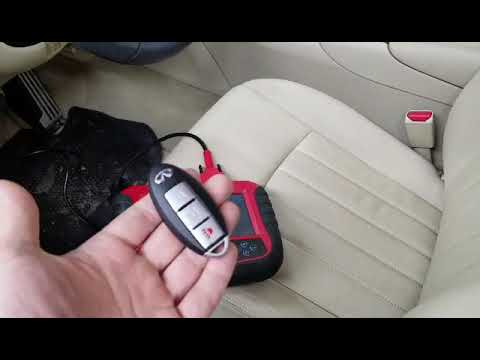 How To Program Nissan Key >> How To Easily Program Infiniti Nissan Smart Key With Skp1000 No Tokens Needed