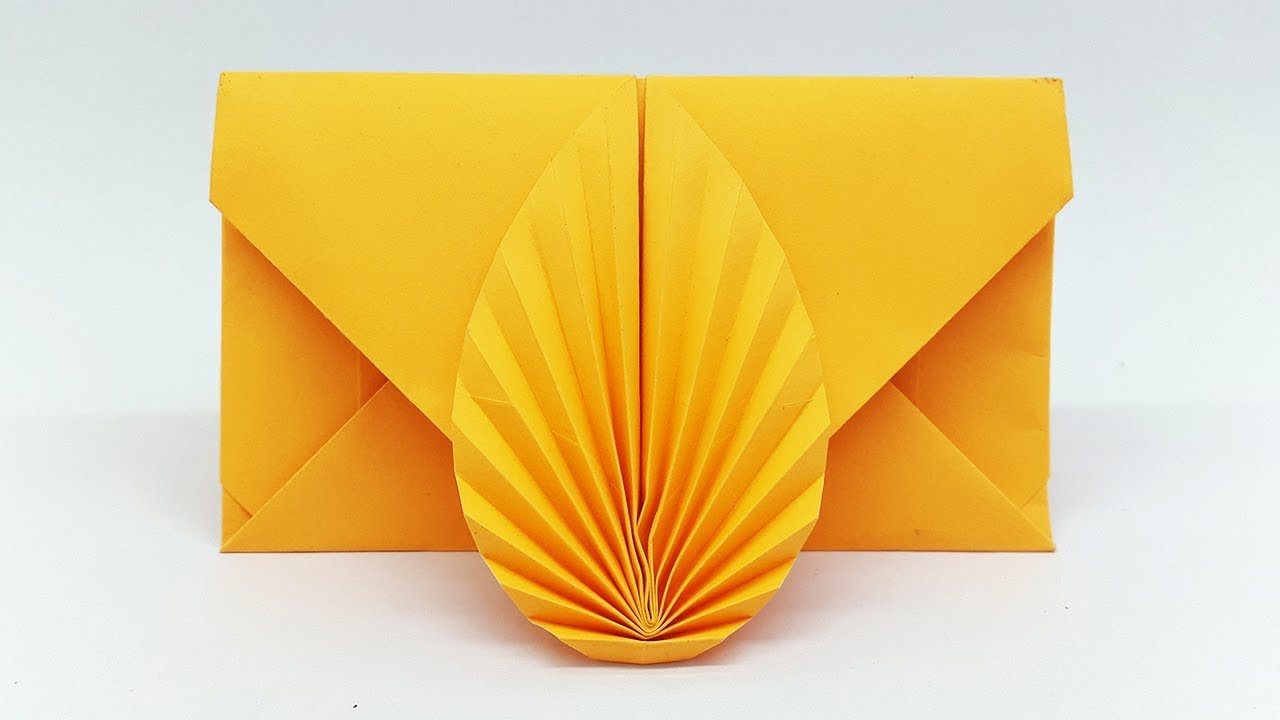 Envelope Making With Paper Without Scissors Glue And Tape Diy Origami Envelope Easy Tutorial