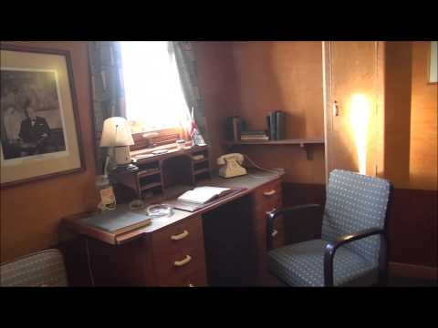 Queen Mary VIP tour of the Captain's Cabin