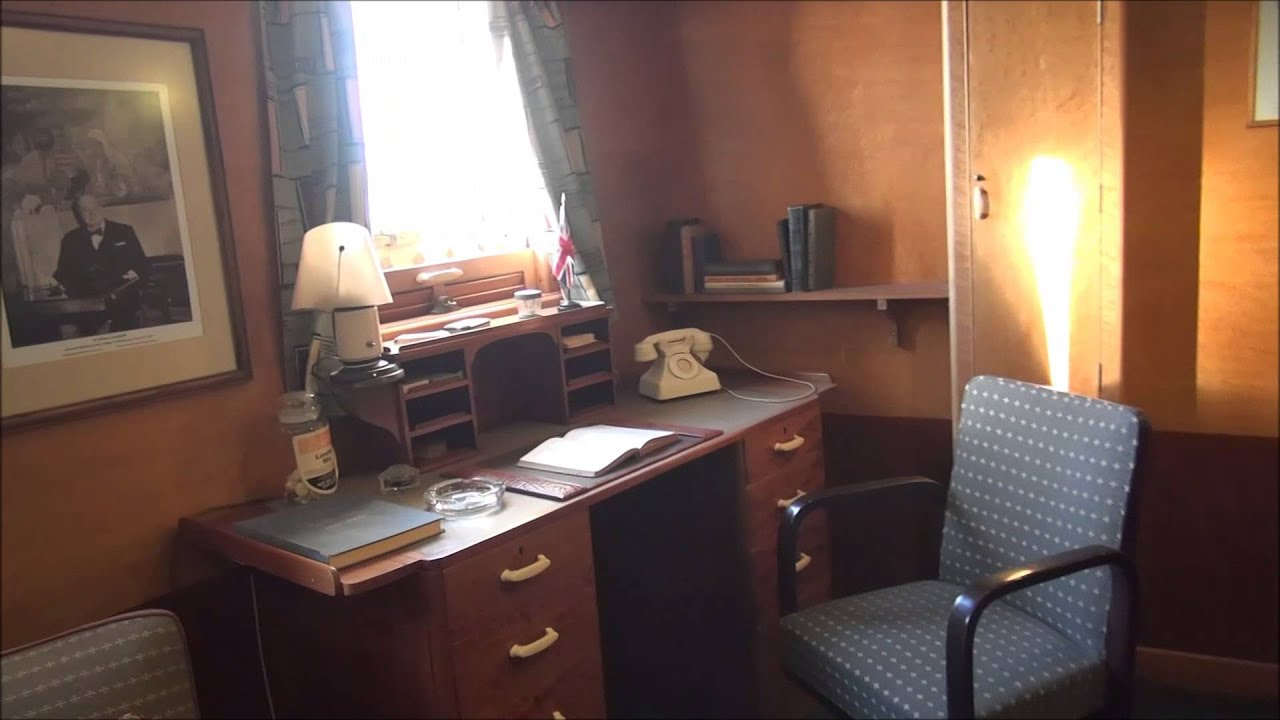 Queen Mary VIP tour of the Captain's Cabin - YouTube