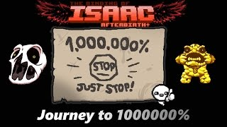 The Binding Of Isaac Afterbirth Journey To 1000000