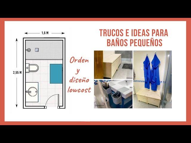 Cómo organizar un baño pequeño y hacer un banco con almacenaje   Bricoydeco