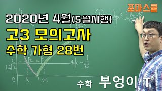 2020년 4월(5월시행) 고3 모의고사 수학 가형 2…