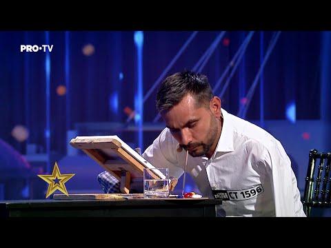 Românii au talent 2021: Cornel Marin i-a impresionat pe jurații cu talentul său
