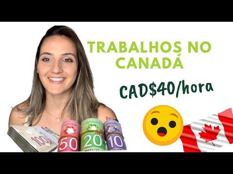 MEUS TRABALHOS DURANTE O COLLEGE NO CANADÁ