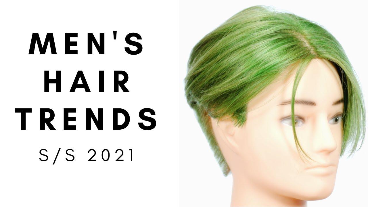 Men's Hair Trends Spring Summer 2021 - TheSalonGuy - YouTube