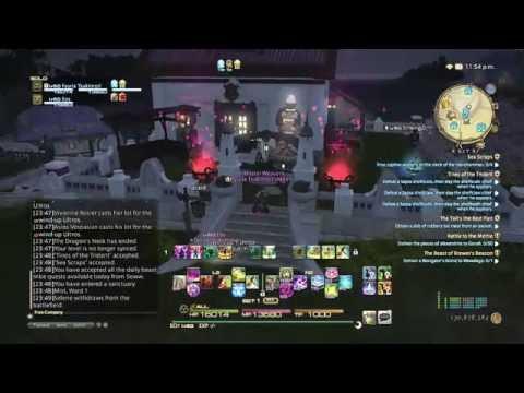FFXIV: Heavensward - Goodbye to Old FC House by Baka Games