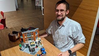 LEGO Corner Garage 10264: Designer Mike Psiaki about flat tires and tiles