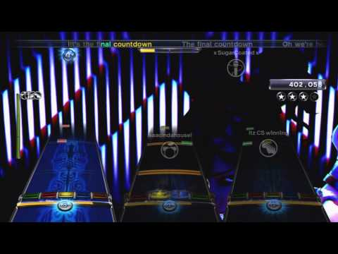 The Final Countdown by Europe Full Band FC #887