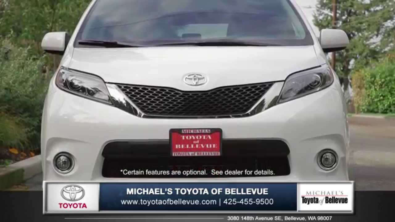 2015 Toyota Sienna Review | Toyota Of Bellevue   Toyota Dealer In Bellevue,  WA