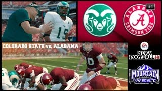 NCAA Football 14: Colorado State Online Dynasty (Mountain West Conference) - EP3