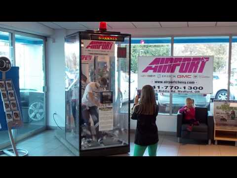 Airport Chevy 2013 Student Cash Grab for Schools -- Illinois Valley High School
