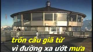 Đường Xa Ướt Mưa - Karaoke