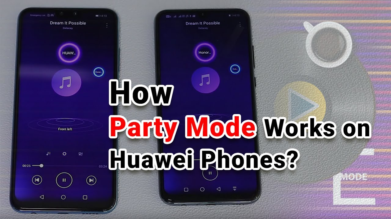 How To Use Party Mode On Huawei and Honor Phones