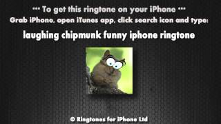 Laughing Chipmunk (iPhone Ringtone)