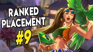 RANKED PLACEMENT GAMES #9 | Cassie Paladins Gameplay