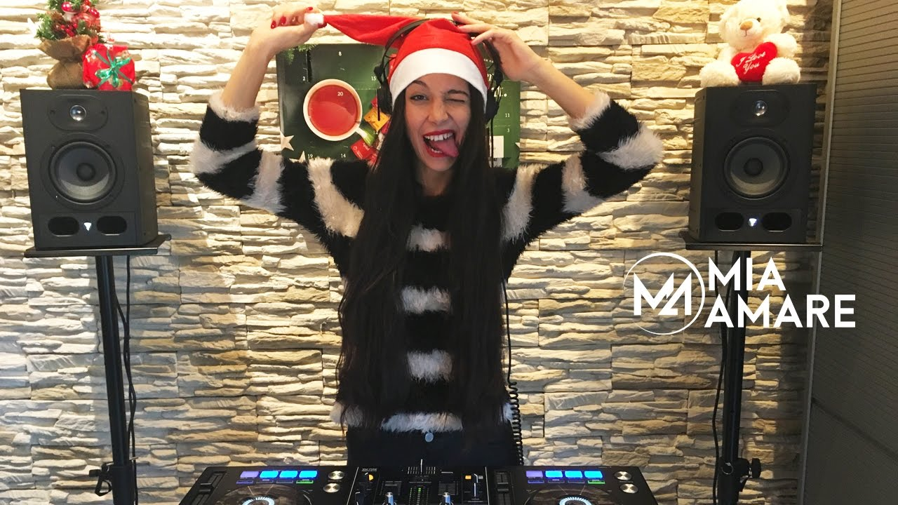 Mia Amare Happy House Sessions 006 Christmas Mix 2016 DJane