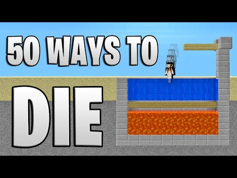 50 Ways to Die in Minecraft (Summer Edition)