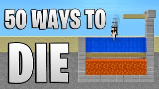 50 Ways to Die in Minecraft (Summer Edition)