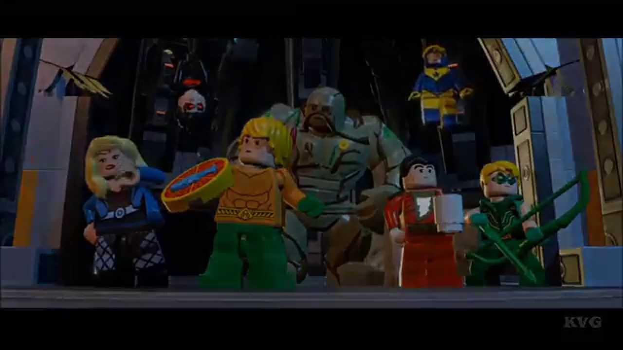 LEGO Batman 3: Beyond Gotham - Secret Ending [HD] - YouTube