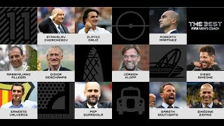 The Best FIFA Men's Coach nominees revealed!