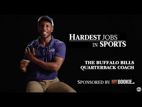 Buffalo Bills QB Coach | Hardest Jobs In Sports (Presented by MyBookie)