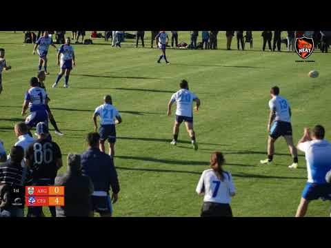 Chile v Argentina - Final, 1st Latin American Rugby League Championships