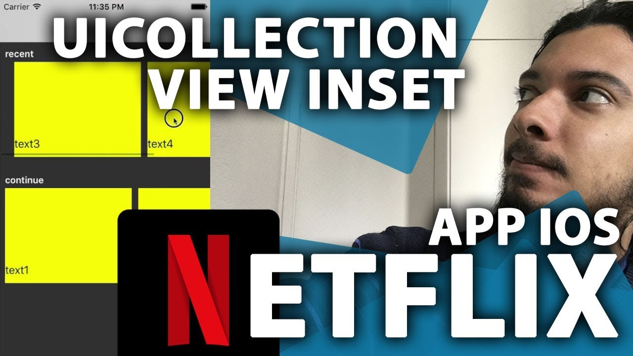 Netflix Feed Layout iOS: Inset UI