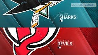 San Jose Sharks vs New Jersey Devils Oct 14, 2018 HIGHLIGHTS HD