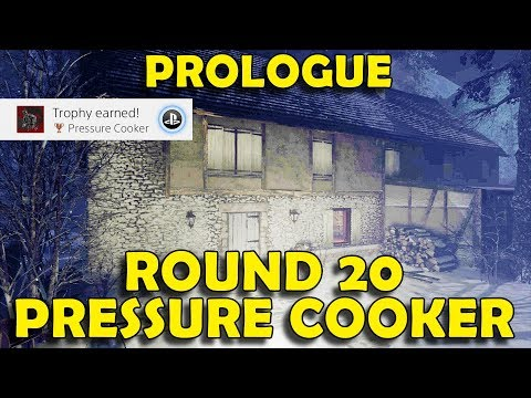 Call of Duty WW2 Zombies - Prologue Round 20  - Pressure Cooker Trophy / Achievement Guide