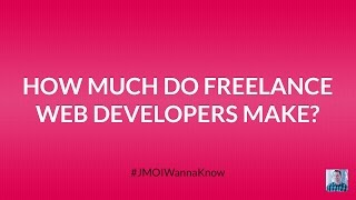 How much do freelance web developers make annually?