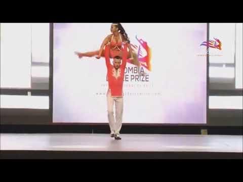 Colombia dance prize. Parejas bachata cabaret profesional.