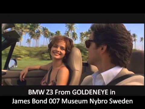 BMW Z3 GOLDENEYE   James Bond Museum Nybro Sweden