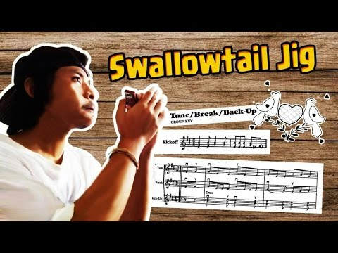 Swallowtail Jig - Irish Tune! (Harmonica)