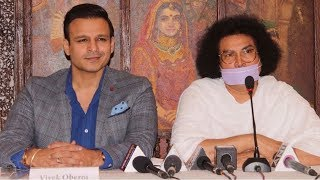 Vivek Oberoi At The World Peace Conclave Press Conference