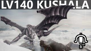 【MH4U】Kushala Daora︱LV.140︱4 P︱1:05︱LBG