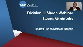 Student-Athlete Voice - Division III March 2021