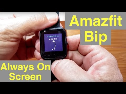 Xiaomi Huami Amazfit Bip Lite Fitness Smartwatch Quot Always