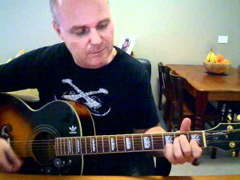 ♪♫ Johnny Cash - Folsom Prison Blues (Tutorial)