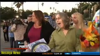Susan Marie Mellen EXONERATED, FREED After 17 Years in PRISON...Does DANCE Of JOY!!!
