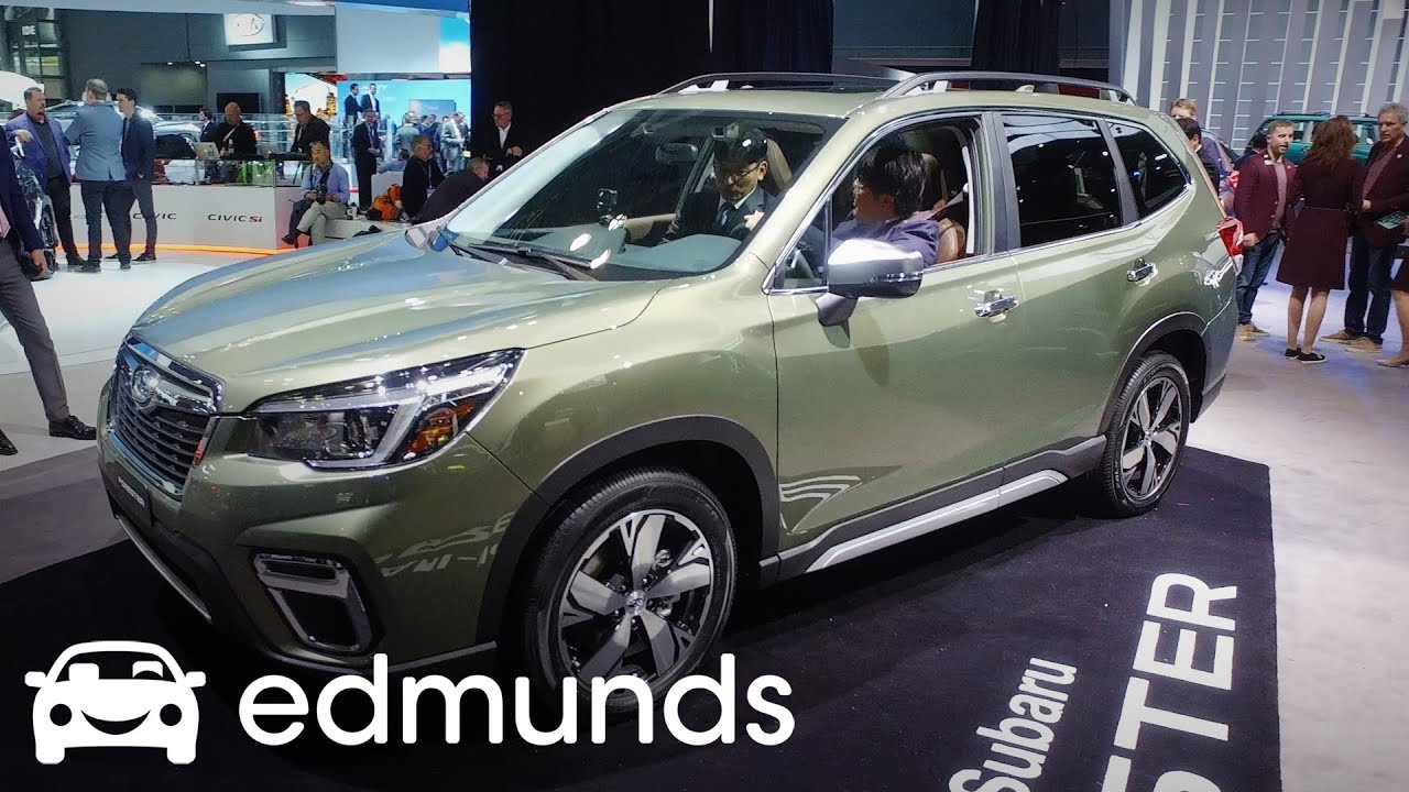 2019 Subaru Forester First Look Edmunds Youtube